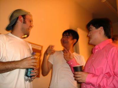 Jeff, David C, David I