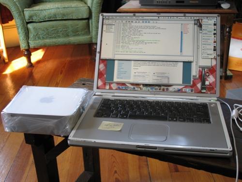 mac mini and powerbook