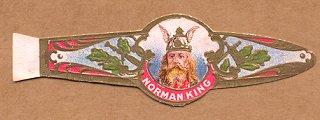 Norman King cigar band