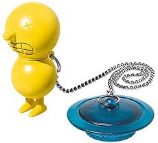 Mr. Suicide bath tub plug