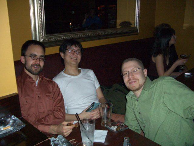 John, me, and J